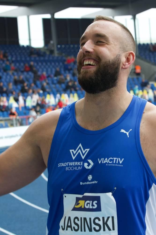 Daniel Jasinski: Der Wattenscheider Diskuswerfer vertritt Deutschland bei den Olympischen Spielen