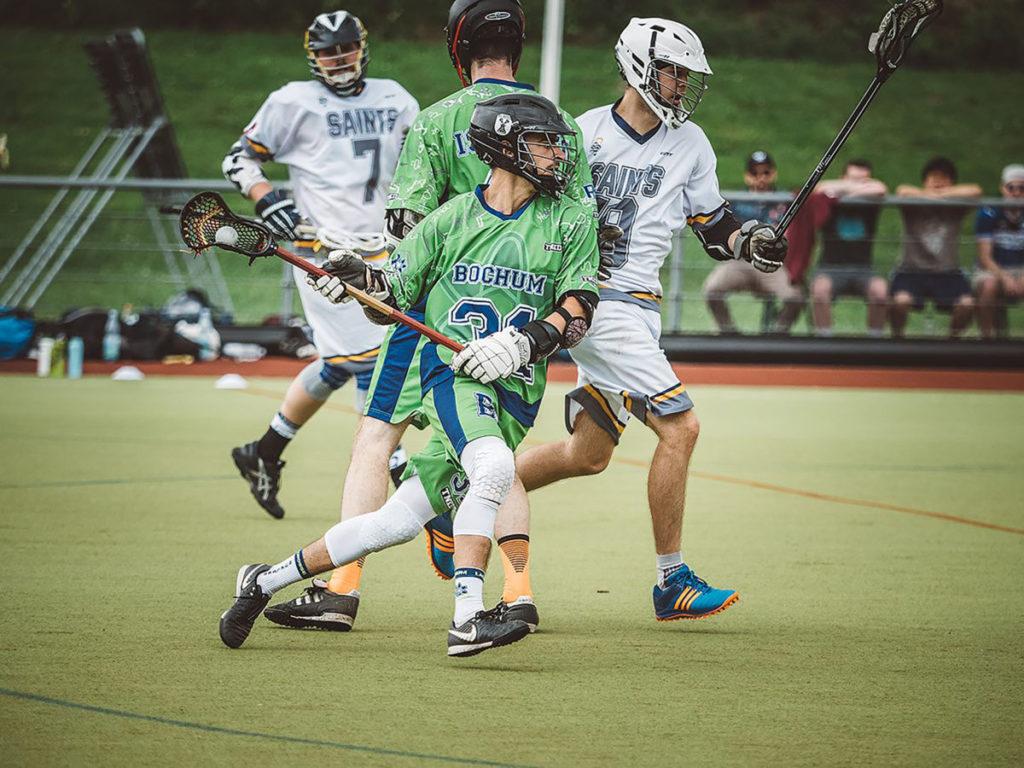 Lacrosse3 Photo Credit Heiko Broska . Jesse Heyninck gegen Marburg