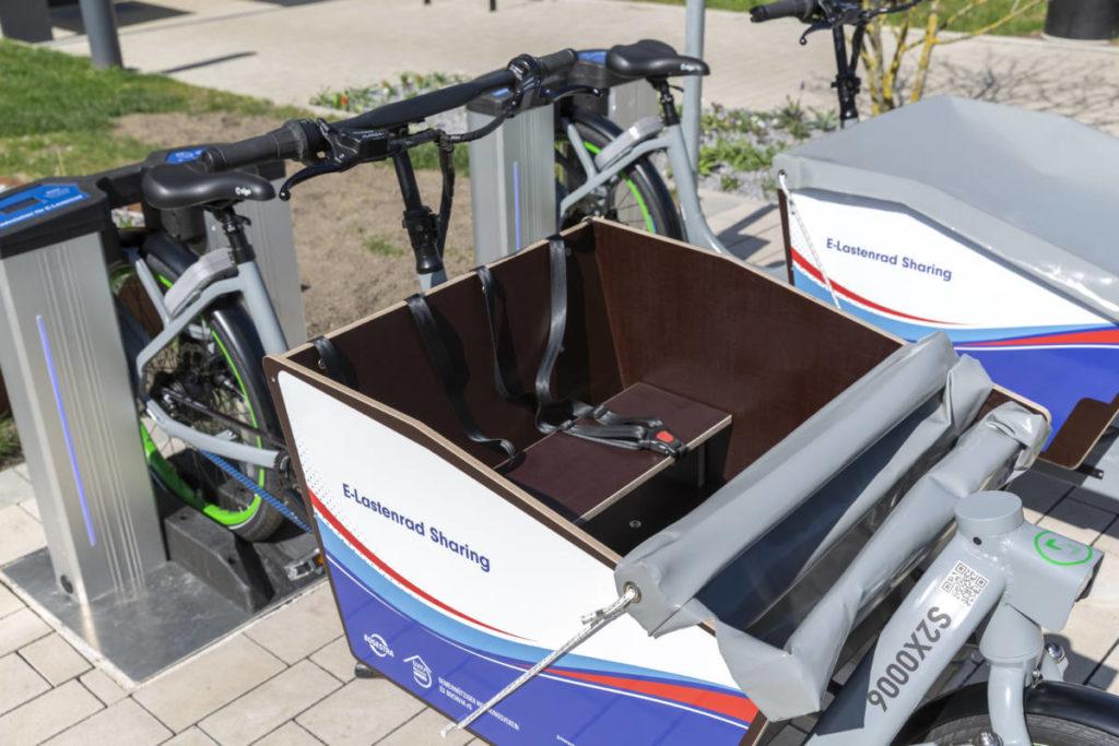 E-Lastenräder: Neues Angebot von GWV und BOGESTRA
