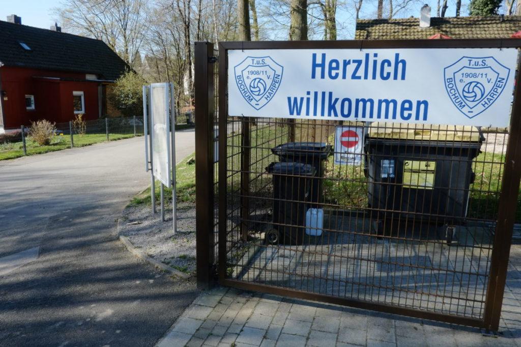 Am Steffenhorst: neuer Sportplatz des TuS Harpen