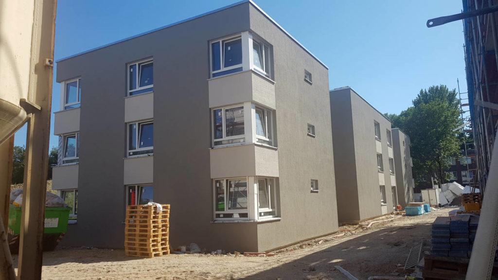 An der Dördelstraße entsteht ein neues Seniorenheim