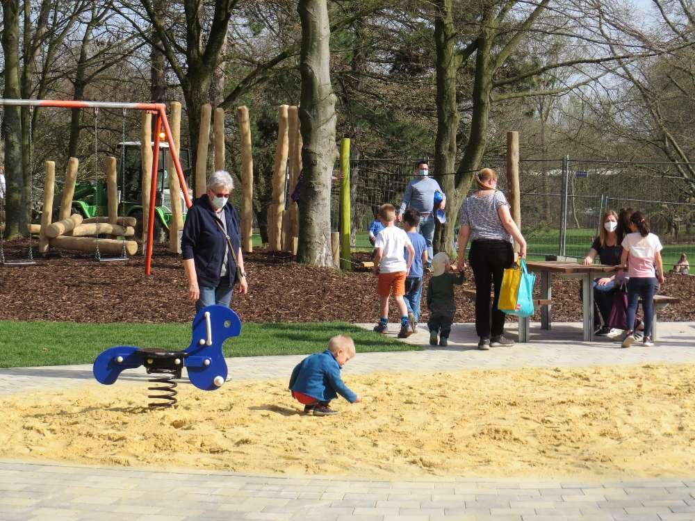 Im Volkspark Langendreer darf gespielt werden